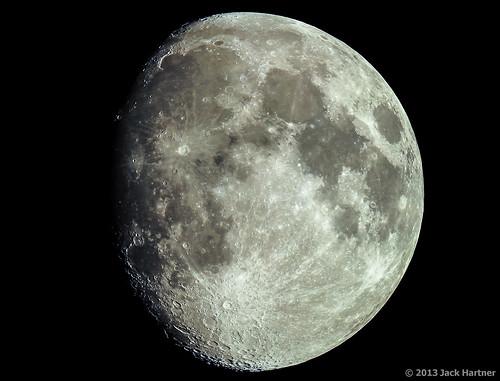 Gibbous Moon (Mosaic)