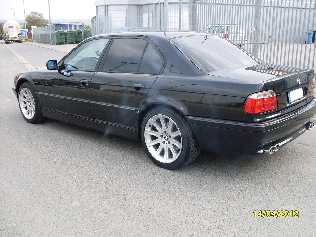 My Old E38 Bmw E38 Special Black Edition Orkun Yilmaz Flickr