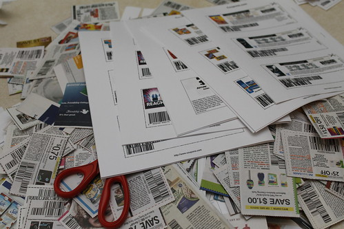 Coupon Pile Stock Photo | by rose3694