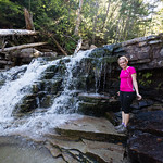 Coliseum Falls with Emily