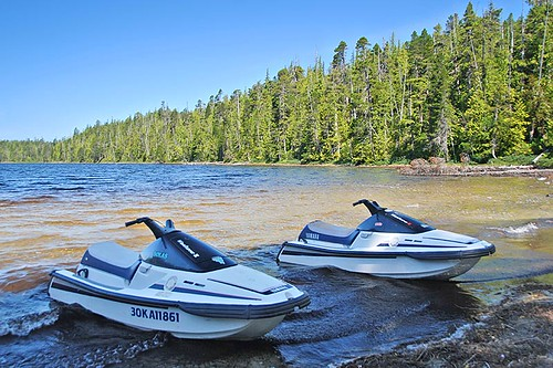 Georgie Lake near Port Hardy, North Vancouver Island, British Columbia, CanadaG