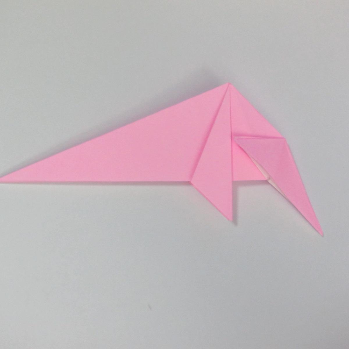 สอนการพับกระดาษเป็นลูกสุนัขชเนาเซอร์ (Origami Schnauzer Puppy) 046