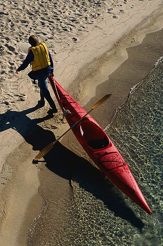 Sea Kayaking; Outdoor Recreation in British Columbia, Canada