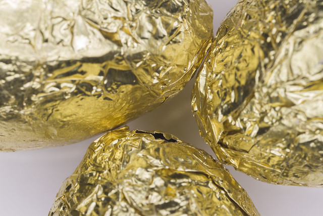 Wrapped chocolate