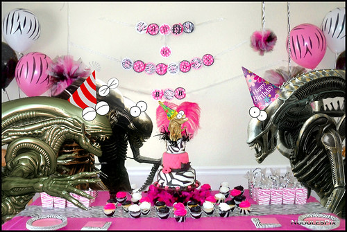 Alien Birthday Party