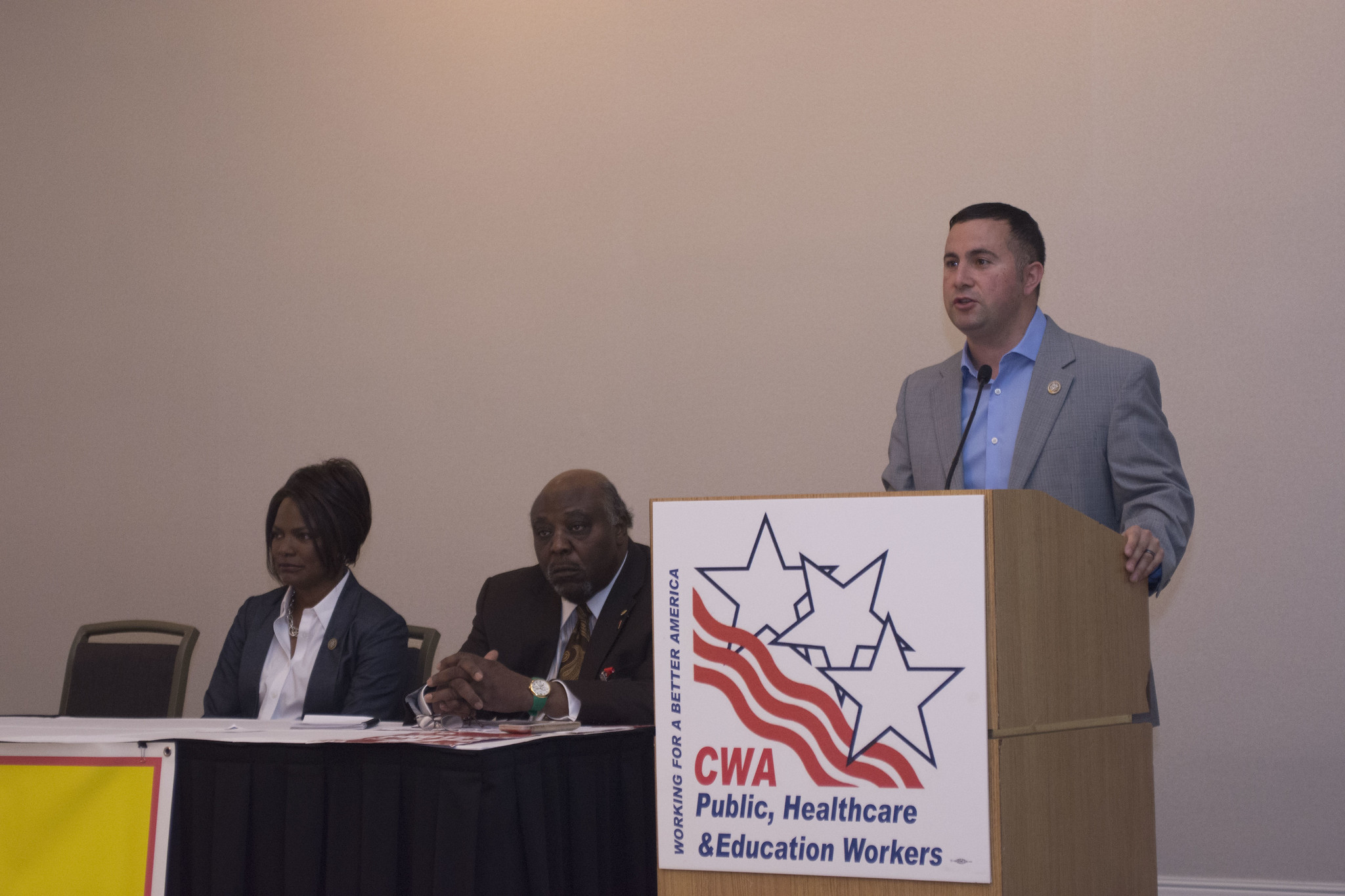Rep. Darren Soto at the 2017 Public, Healthcare, and Education Workers Conference