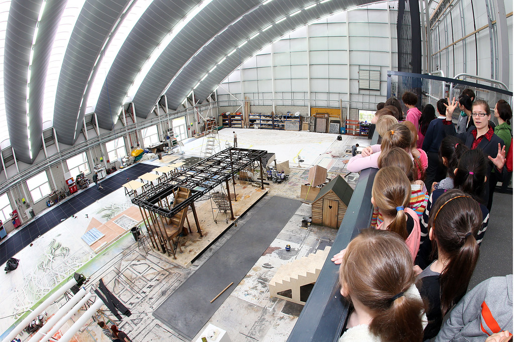 Tours of the The Royal Opera House Bob and Tamar Production Workshop in Thurrock © ROH