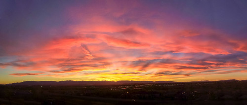 sunset sky panorama cloud landscape evening colorado cloudy pueblo iphone coloradostateuniversitypueblo iphonography iphone5s