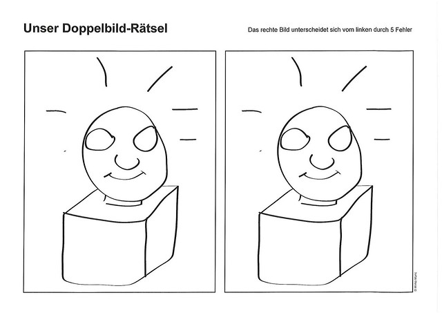 Doppelbild-Rätsel - Eine Arbeit von Mirko Maric