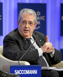 Closing Europe's Competitiveness Gap: Fabrizio Saccomanni   by World Economic Forum