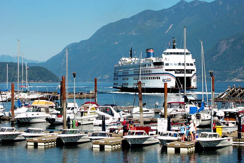 Sewell's Marina, Horseshoe Bay, Howe Sound, West Vancouver, British Columbia, Canada