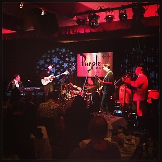 Marty Lush and his Latin Livers dinner show at the Purple Room Palm Springs #modernismweek | by Reverberations Media