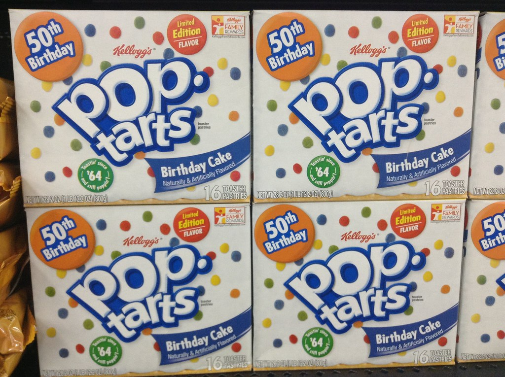 Pop Tarts Birthday Cake 50 Years, | Pop Tart 50th Birthday S… | Flickr