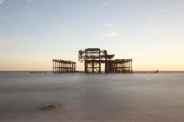Brighton West Pier Colour - Explored 16/03/14
