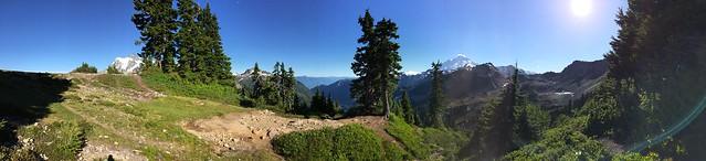 Artist Point panorama,North Cascades,WA. 6/25/2015