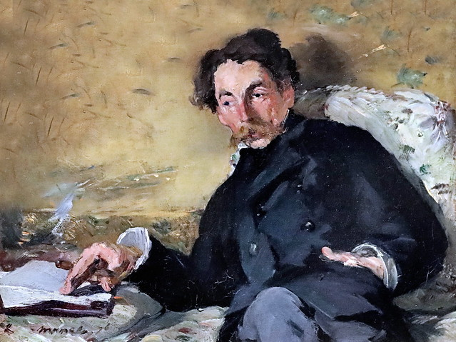 IMG_6437 Edouard Manet 1832-1883. Paris.Stephane Mallarmé. 1878.  Paris Orsay.