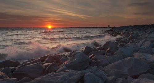 morning sun sunlight lake sunrise scott photography dawn waves pontchartrain waterscape mohrman