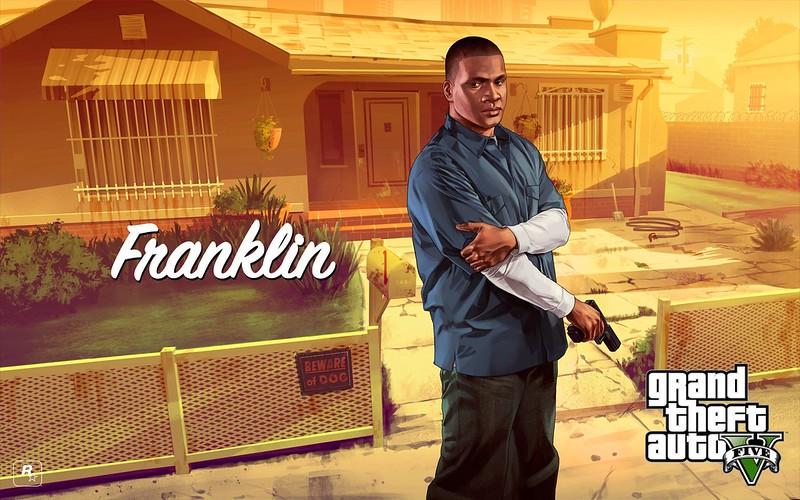 GTA V Franklin