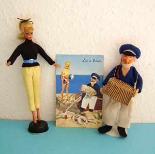 Bild Lilli, Postcard and Sailor