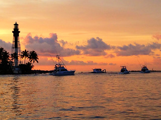 Hillsboro Inlet - Pompano Beach,Florida  Photo captured with a tripod mounted iPhone5 & Camera+ app | by Daniel Piraino