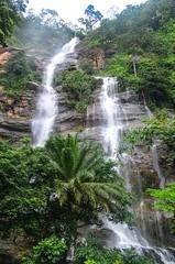 Kpime waterfall near Kpalimé, Togo