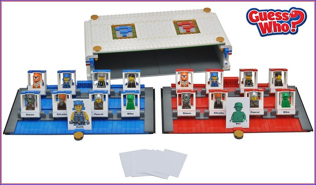 Lego Game Guess Who?