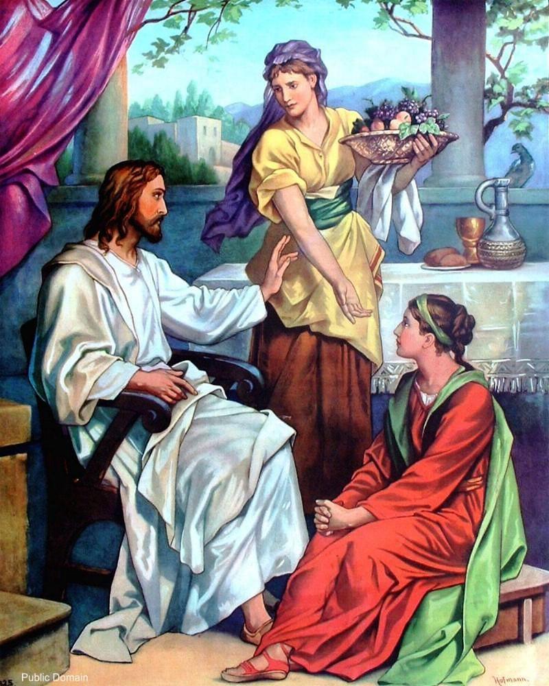 NT119.Mary and Martha