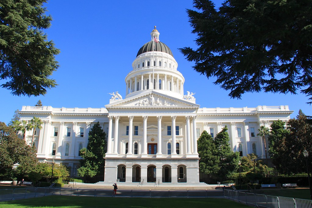 Front of California State Capitol | @ Sacramento,