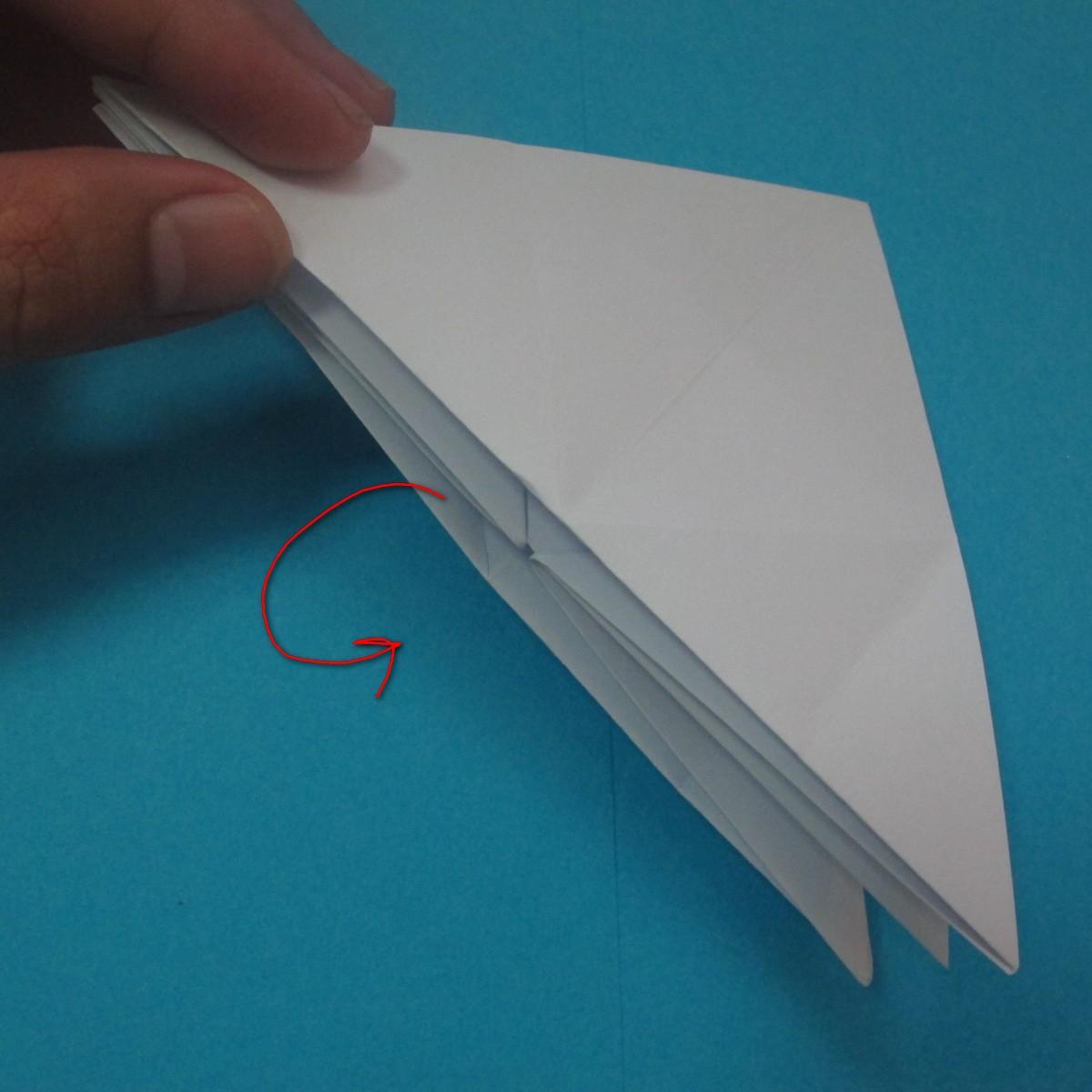 วิธีการพับกระดาษเป็นนกเพนกวิ้น 017