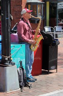 Saxohone Player