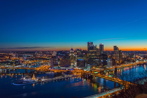Pittsburgh Skyline | by Gilang