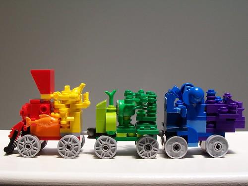 All Aboard the Rainbow Train2