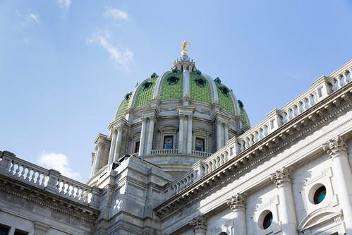 Pennsylvania State Capitol Rotunda Exterior