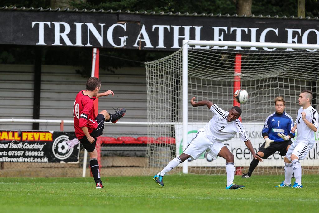 Tring Athletic 4 Greenhouse London 1 FA Vase  Second Qualifying Round