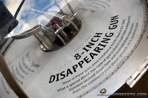 The miniature disappearing gun | by Benjamin Beck
