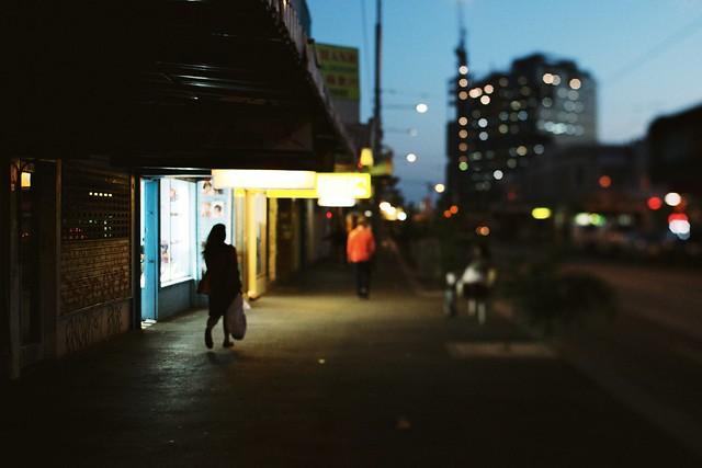 Footscray evening