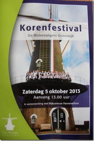 Korenfestival de Molenzangers 2013