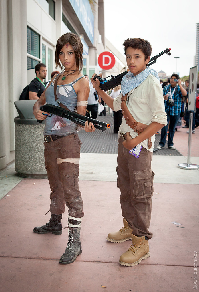 Uncharted Elena Fisher And Nathan Drake Cosplay All Photos