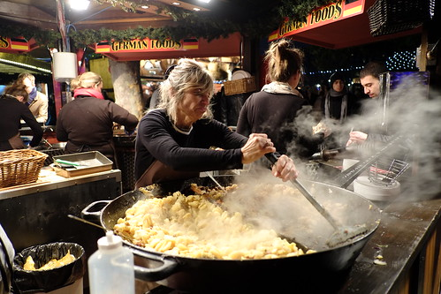 Southbank Christmas Market Food | by Andrew Stawarz