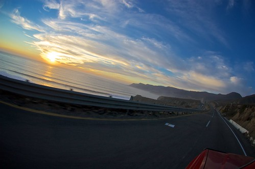 ocean sunset mexico pacific baja