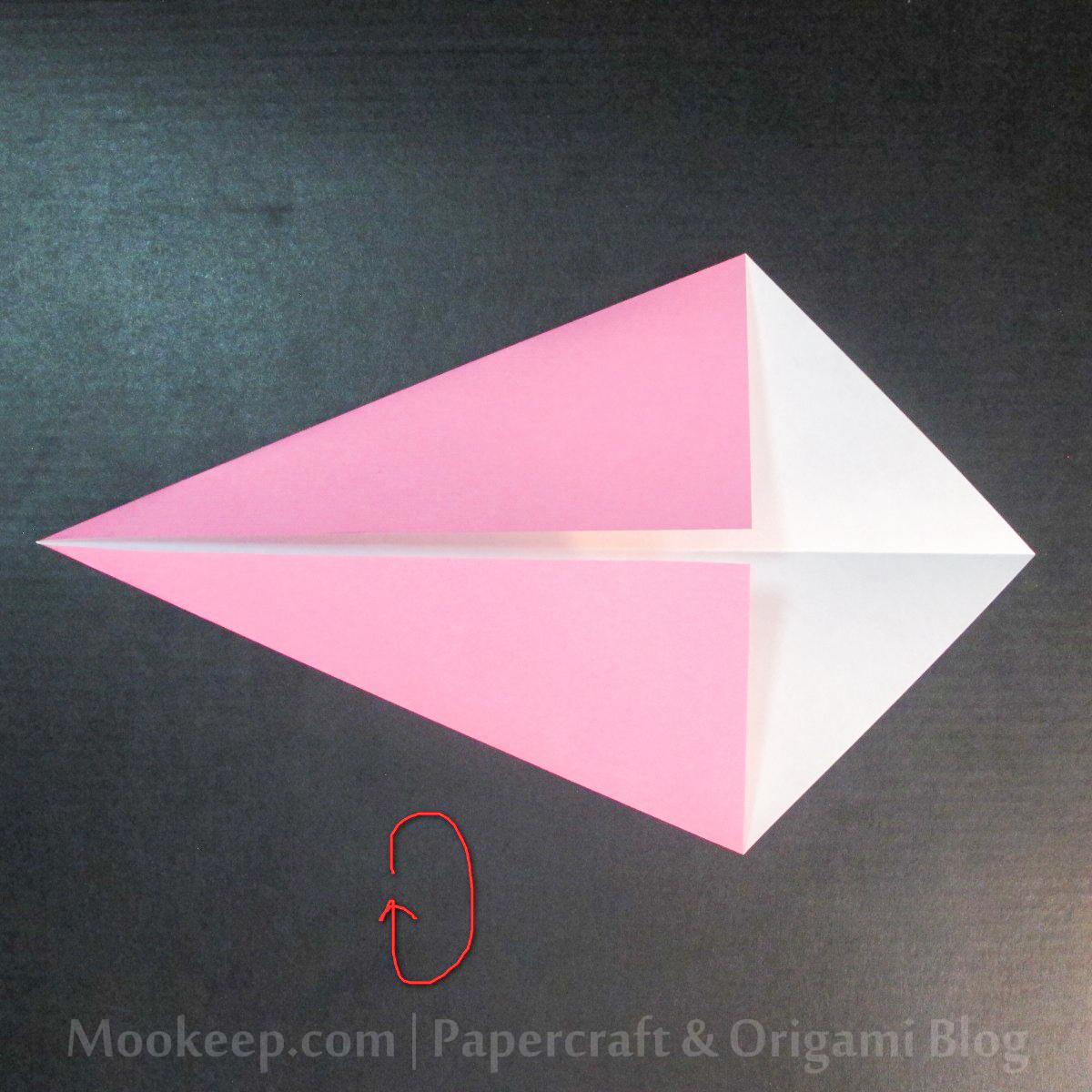 สอนวิธีการพับกระดาษเป็นรูปเป็ด (Origami Duck) - 004.jpg