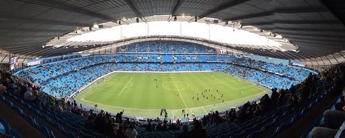 Etihad Stadium, Manchester.   by The Sacredfool
