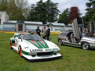 Marcello Gandini -  Lancia Stratos Alitalia