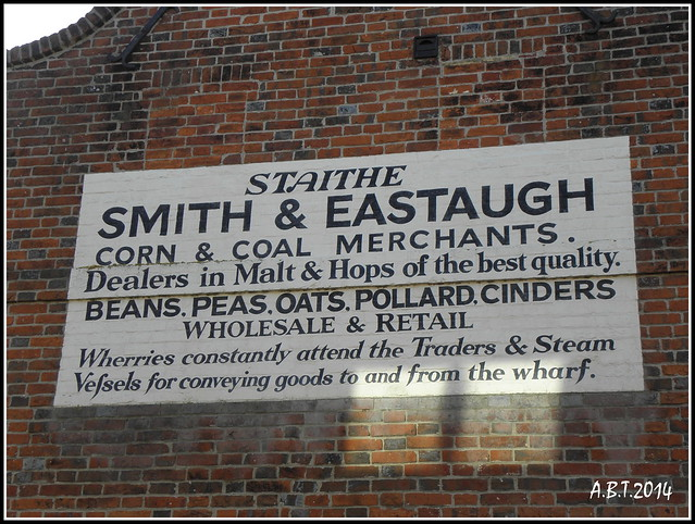 Gable End Sign, Beccles