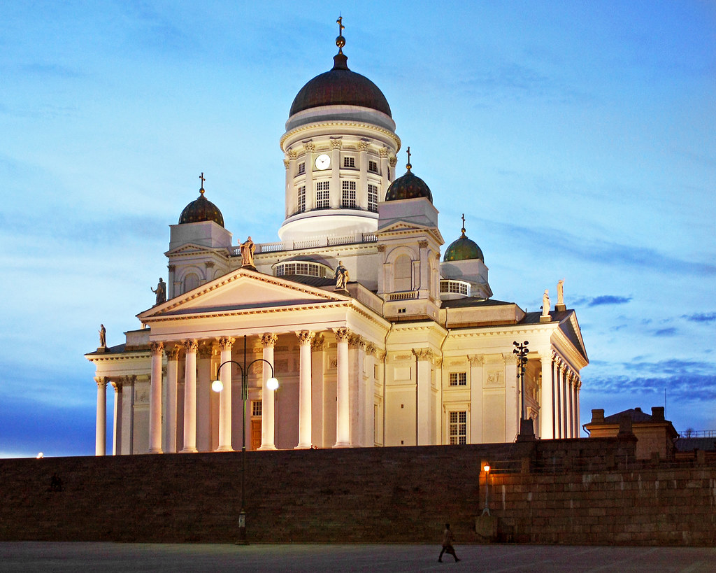 Helsinki Cathedral, White Night