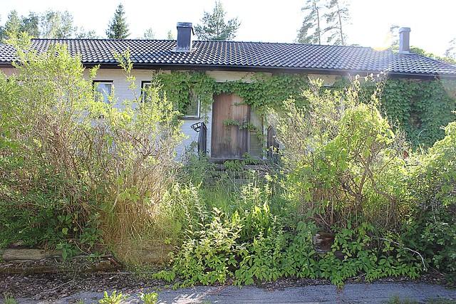 Abandoned house Sweden