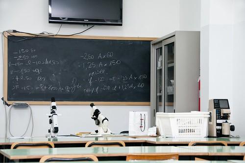 centro studi mecenate bitonto l'aula di ottica | by centro studi mecenate