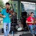The Huval-Fuselier Cajun Band at Festivals Acadiens et Créoles, Lafayette, Oct. 12, 2013