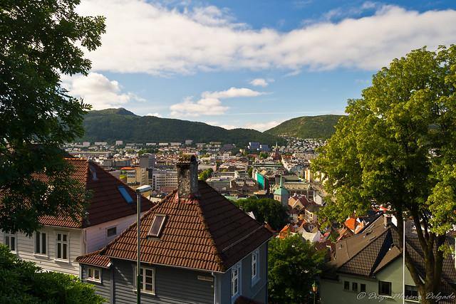 Tejados de Bergen - Roofs of Bergen