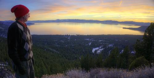 sunset selfportrait raw fav50 nevada laketahoe hdr inclinevillage 2xp photomatix nex6 selp1650